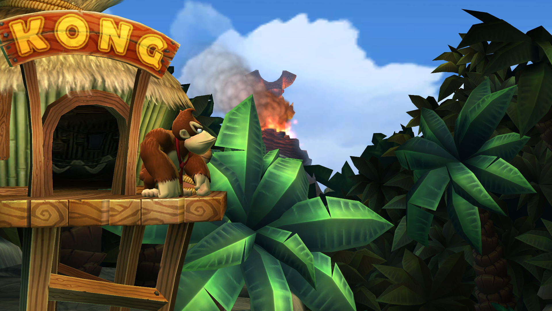 Donkey kong 39 s treehouse donkey kong wiki the for The house returns