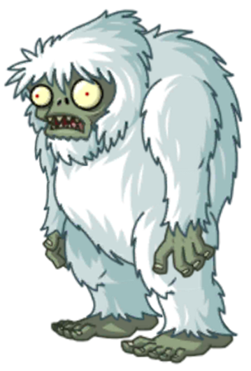 Image Zombie Yeti Png Plants Vs Zombies Wiki The