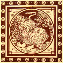 Aesop S Fables Mintons China Works The Decorated Tile Wiki