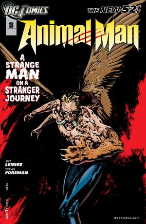 Cover for Animal Man #3 (2012)
