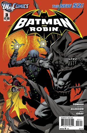 Cover for Batman and Robin #3 (2012)