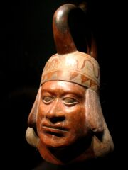 Moche portrait ceramic Quai Branly 71.1930.19.162 n1