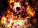 Natsu inside Zancrow's flame.JPG