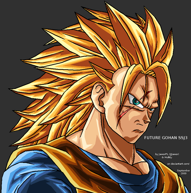 User blog bardockgoku ssj3 future gohan dragon ball wiki - Dragon ball gohan super saiyan 4 ...