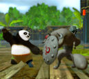 Images from Kung Fu Panda video games