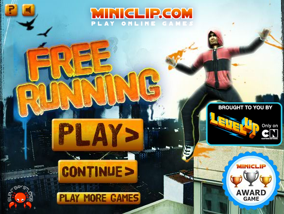 Free running is a sports game on miniclip by silent bay studious  You    Free Running Jumps