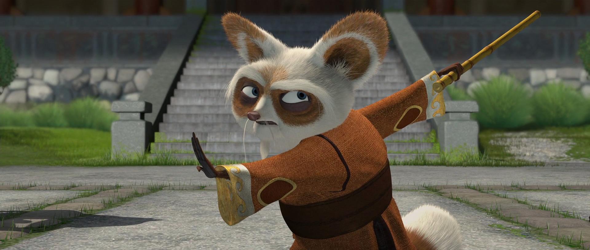 Red panda style kung fu panda wiki the online - Kung fu panda shifu ...