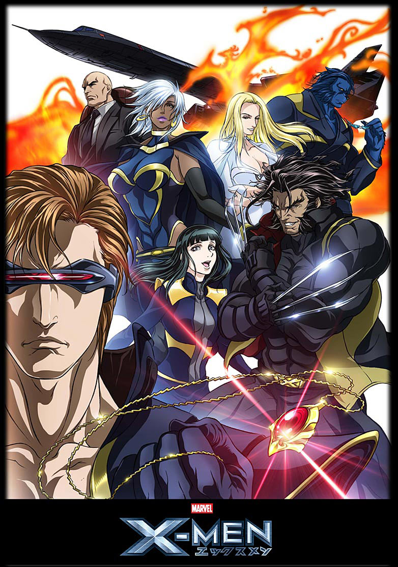 X Men Anime Characters Database : X men anime marvel database wikia