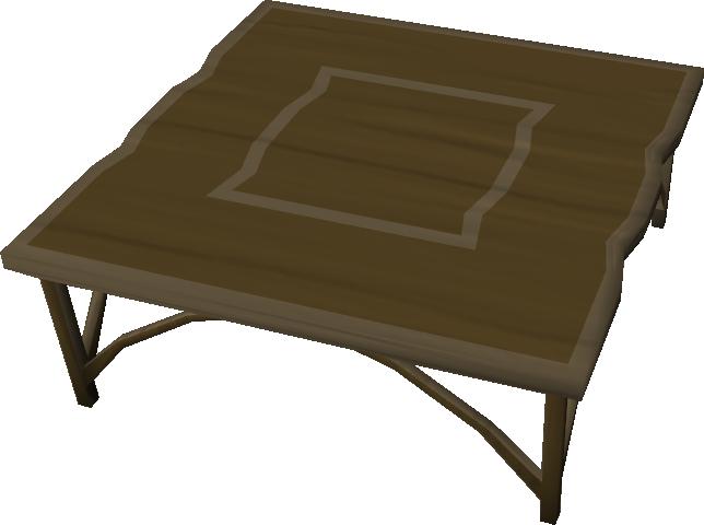 Teak kitchen table The RuneScape Wiki : Teakkitchentablebuilt from runescape.wikia.com size 644 x 480 png 73kB
