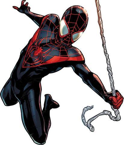 Image spider man miles morales earth 616 jpg spider man