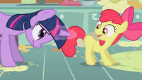 Twilight Apple Bloom spell S1E12