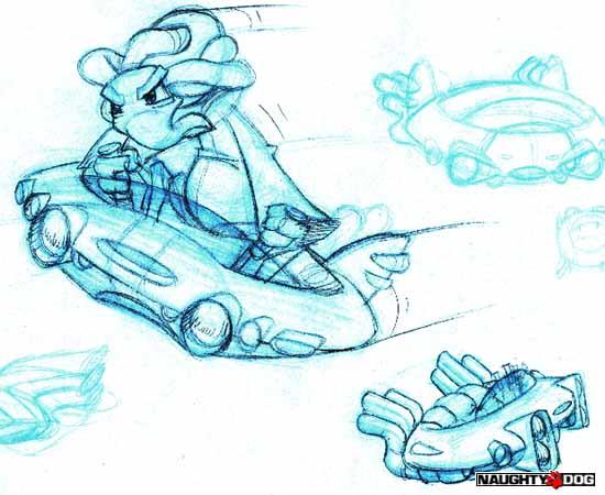 crash bash coloring pages - photo#16