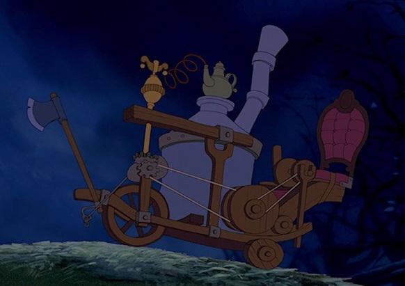 Maurice S Machine Disney Wiki Wikia