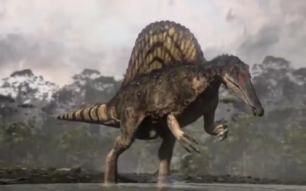 spinosaurus bbc planet dinosaur wiki