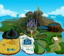 Lugares de The Legend of Zelda: Four Swords Adventures