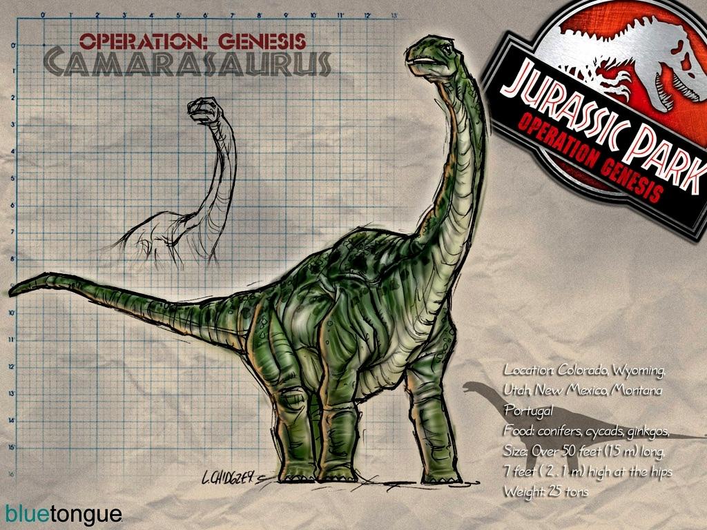 camarasaurus jurassic park wiki