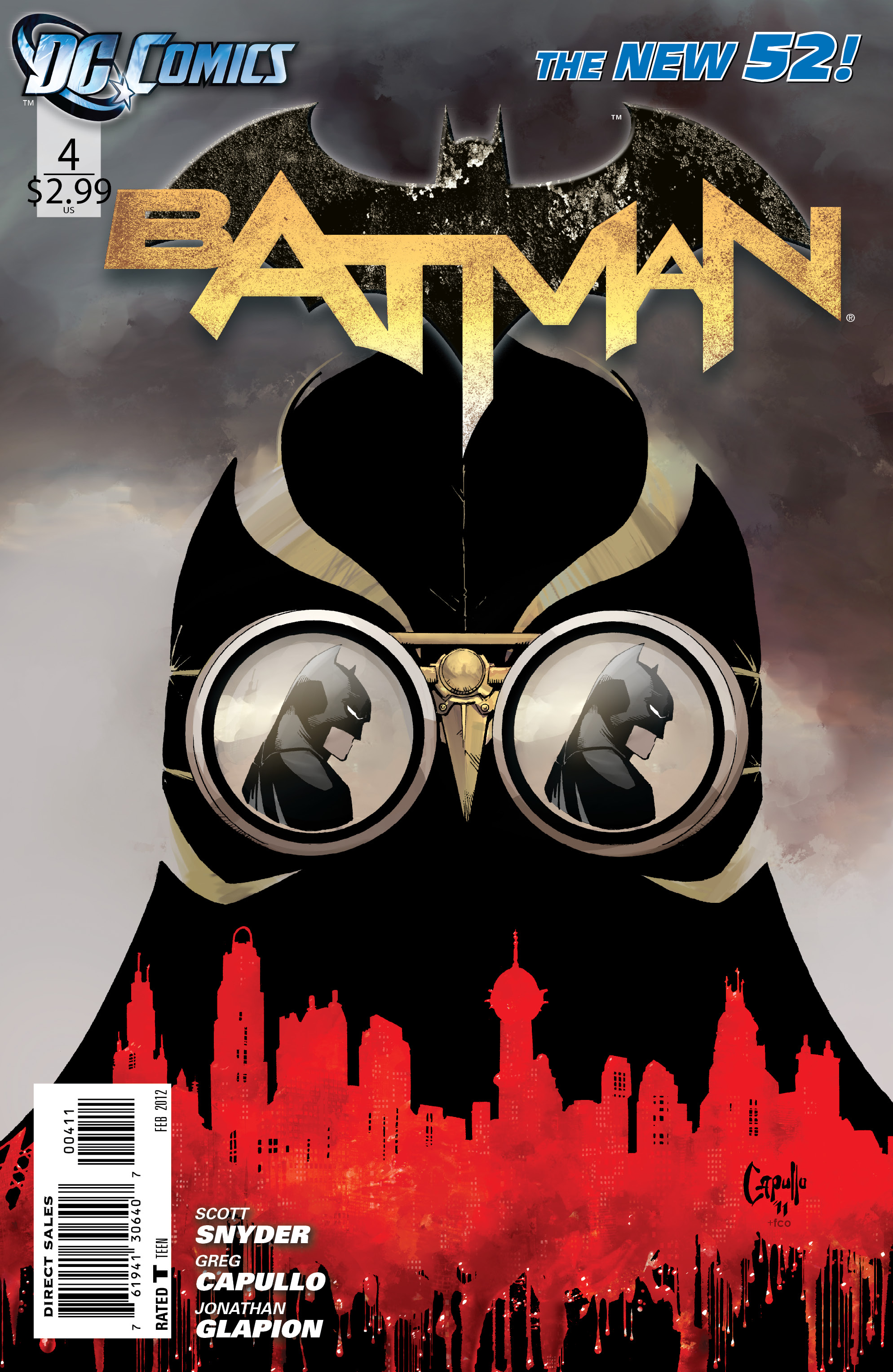 [DC Comics] Batman: discusión general Batman_Vol_2_4