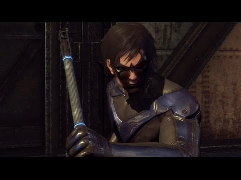 Batman Arkham City Nightwing And Robin Image - Batman Arkham City