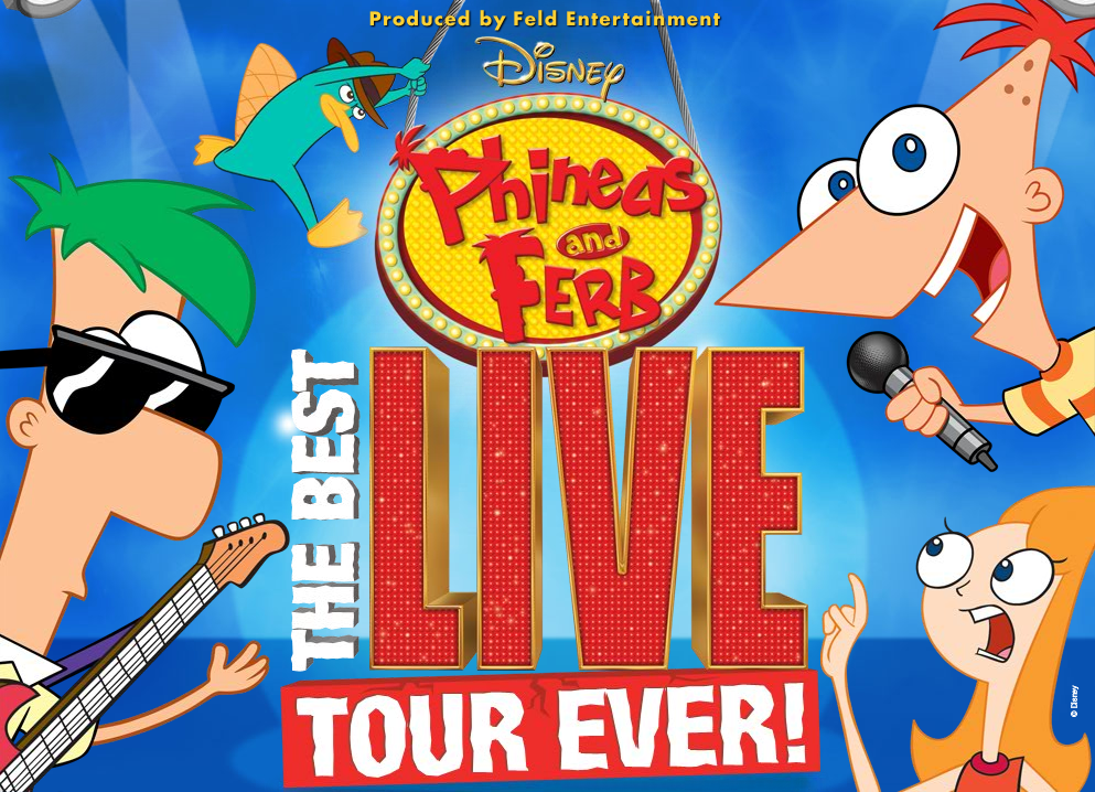 Phineas And Ferb Live Tour Dates