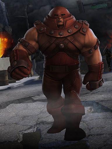 JuggernautX Men Juggernaut