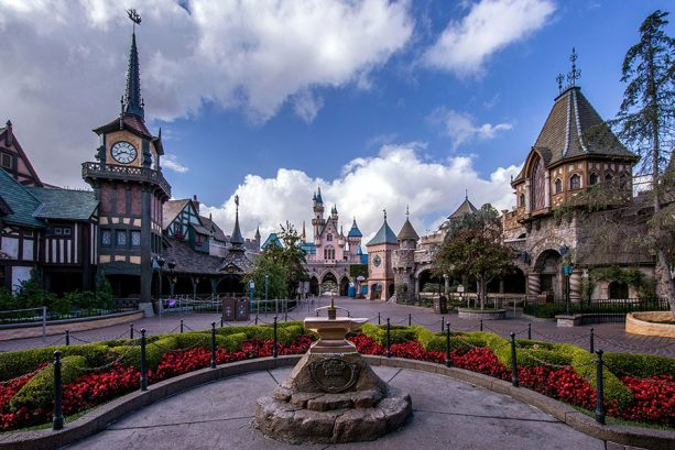 Fantasyland of Disneyland