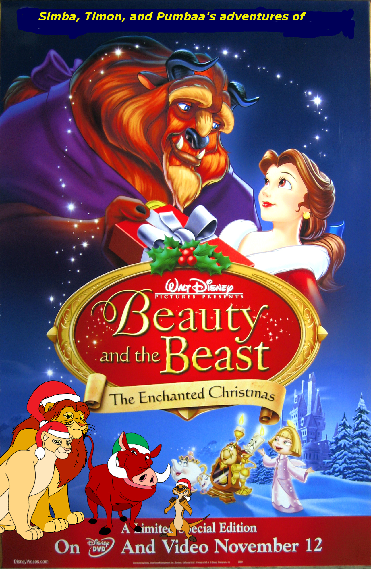 Simba Timon And Pumbaa S Adventures Of Beauty And The