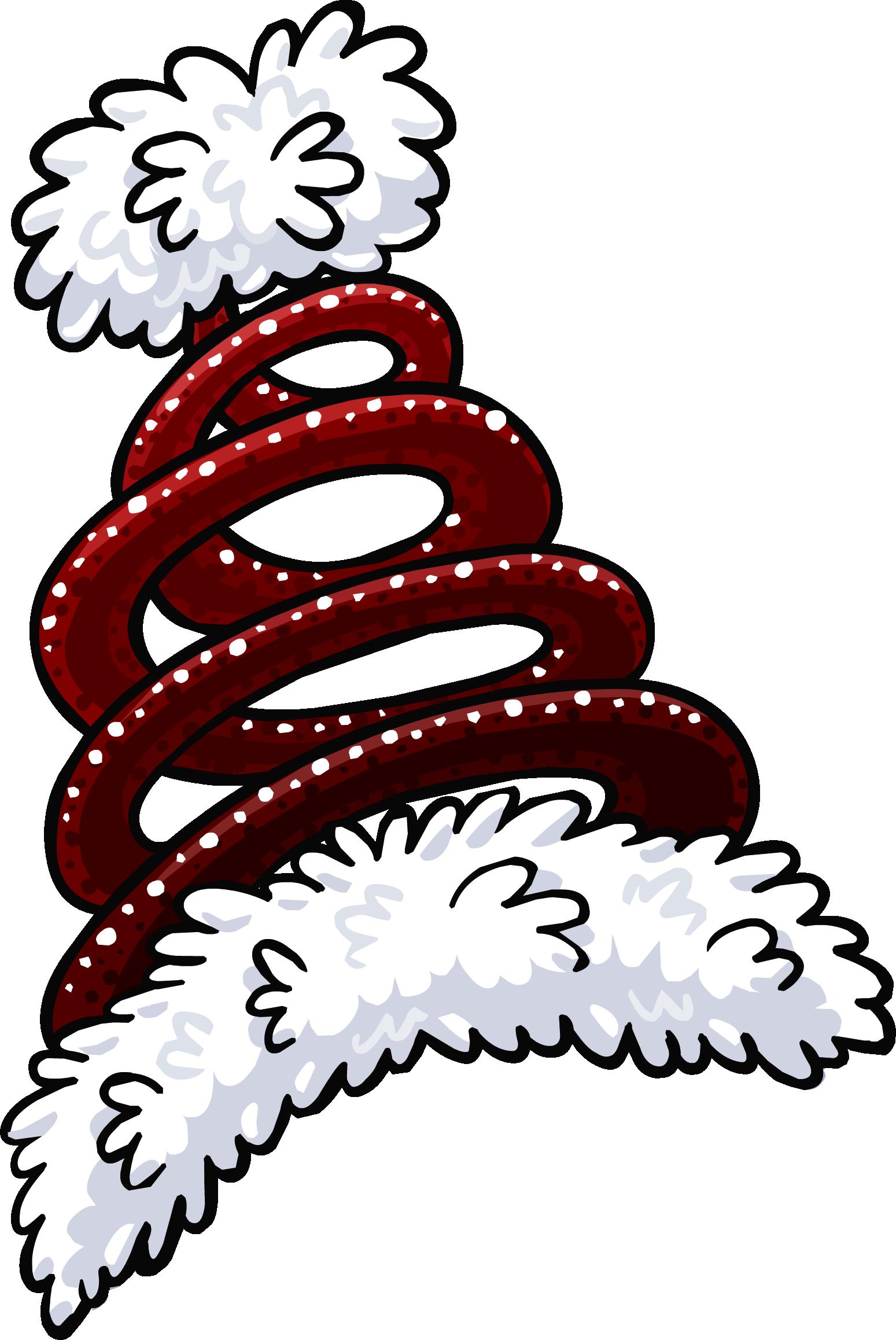 Image springy santa hat club penguin wiki the