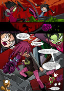 Invader Zim  Manifest DoomZim And Gaz Anime