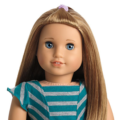how to clean american girl doll face