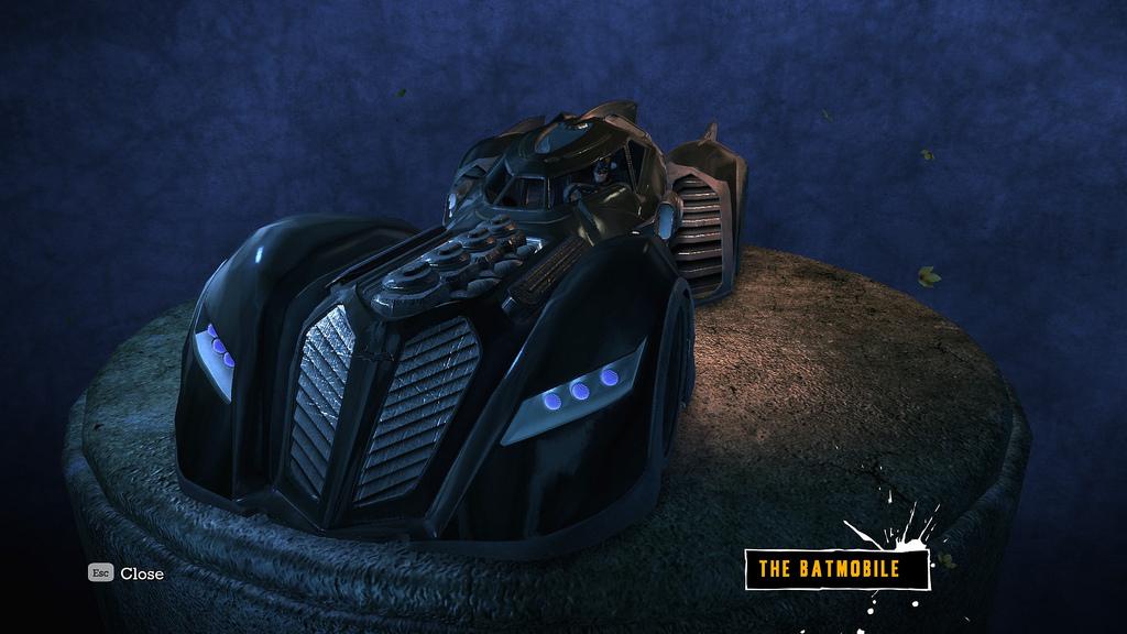 Batmobile (Batman: Arkham Asylum) - Batman Wiki