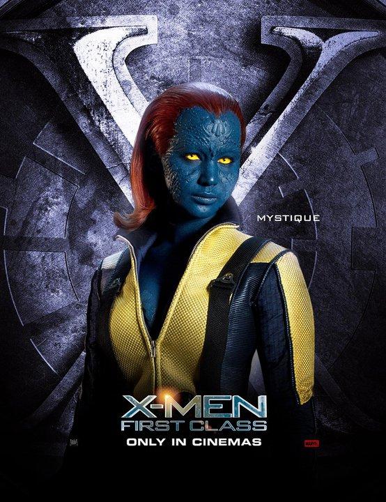 X Men First Class Jennifer Lawrence Image - X-men first cl...
