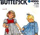 Butterick 4000 A