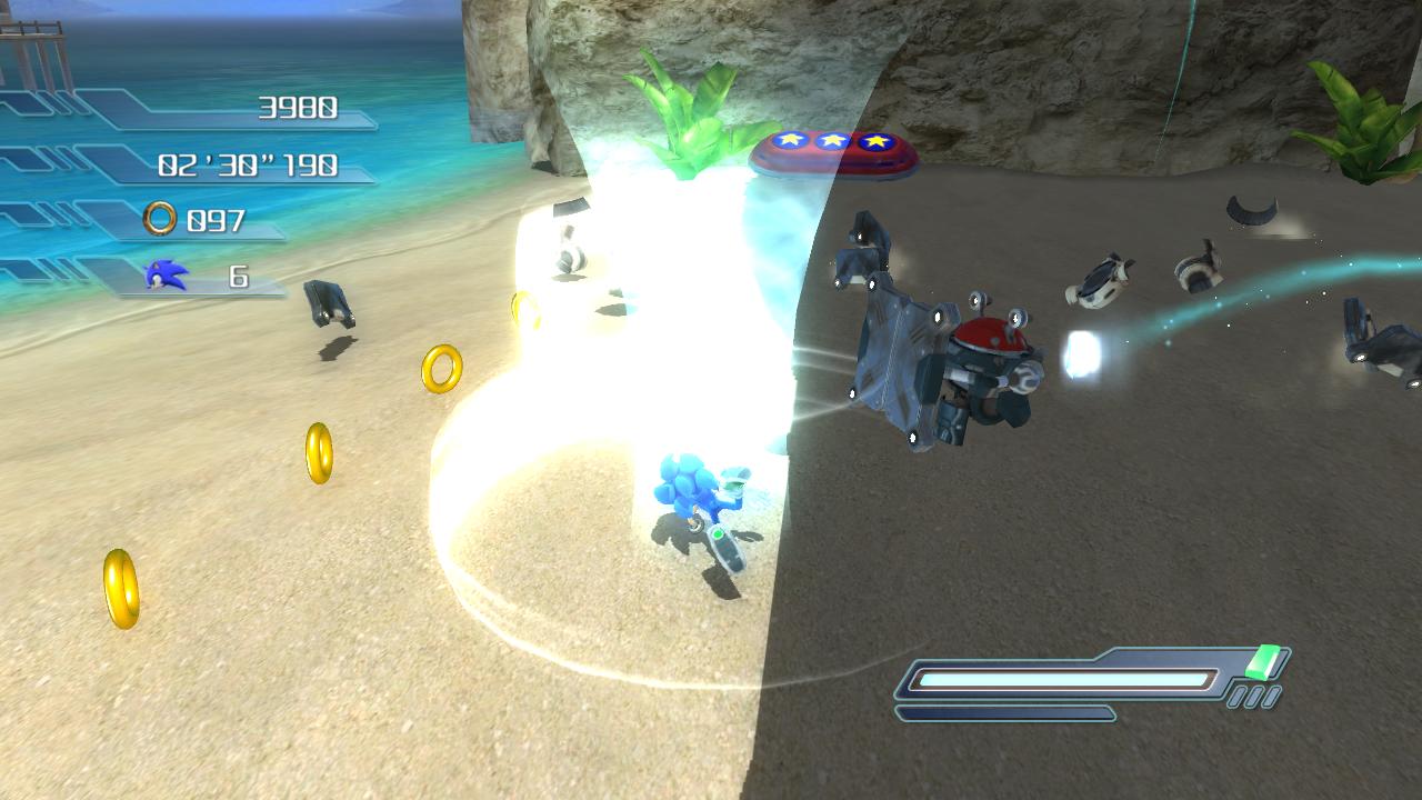 Sonic The Hedgehog Tornado Sonic Using Tornado