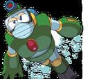 Robot Master Acuático