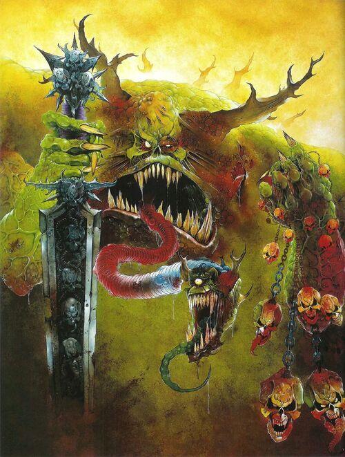 Botchulaz warhammer 40k wikia for Portent runescape