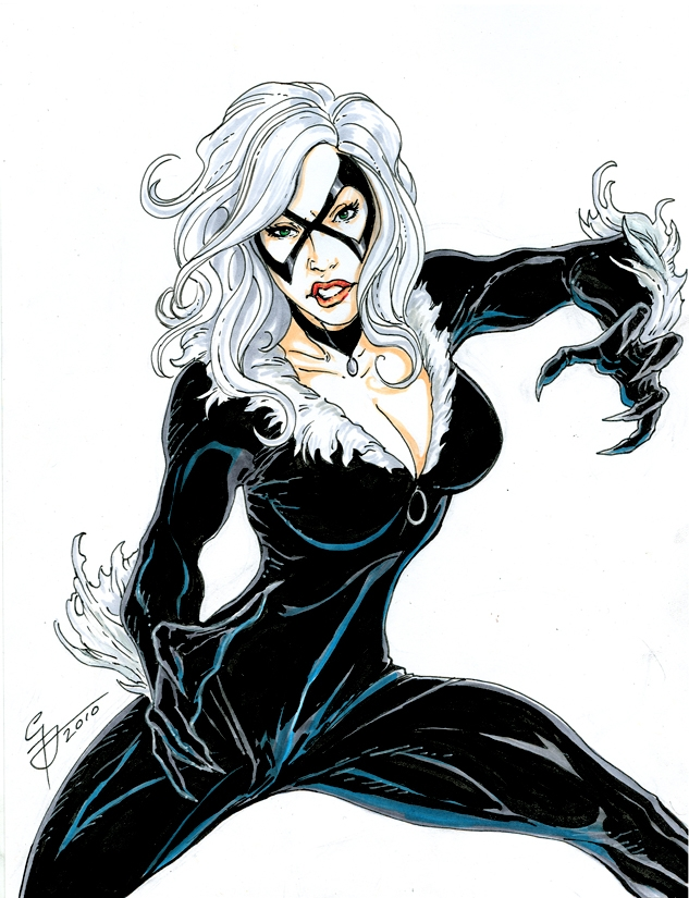 black cat marvel - 633×825