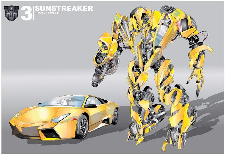 Sunstreaker  G1 Fall Of Cybertron Sunstreaker