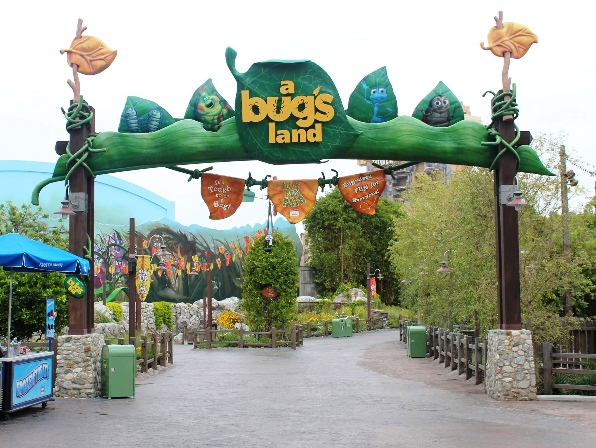 Bug's Land at Disney California Adventure
