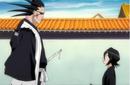 Rukia comes across Kenpachi and Yachiru.png