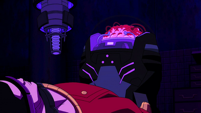 Young Justice The Brain Alpha Male - Yo...