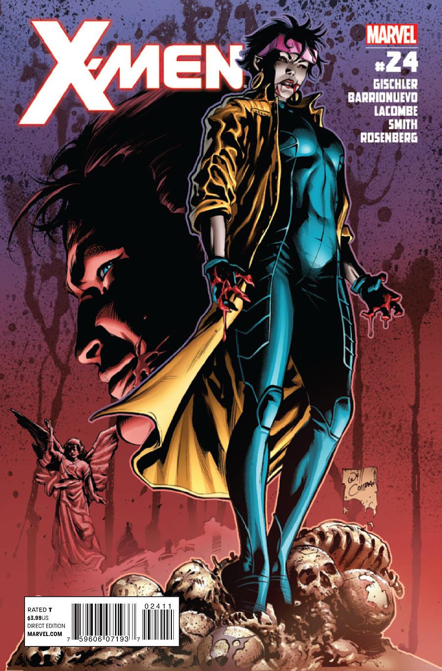 X-Men Vol 3 24 X 23 Daken
