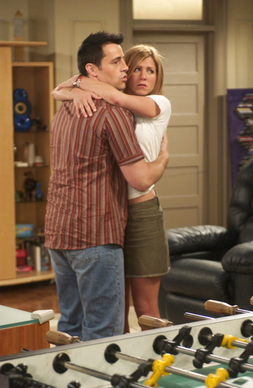 joey and rachel dating No, he never didin episode 103, the one with ross's tan, they kissed when they taught they liked each other as boyfriend-girlfriend, but then they started to make up, and rachel kept slapping joey in the face, so they realized they loved each other as friends also, in the episode the one that.