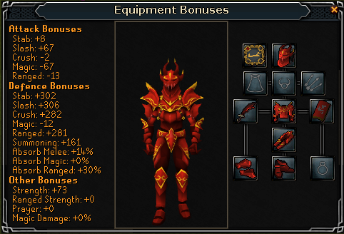 how to make gold trimmed armor in runescape