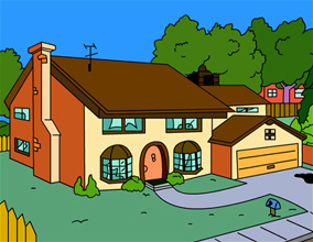 Springfield simpsons italia for Evergreen terrace 742