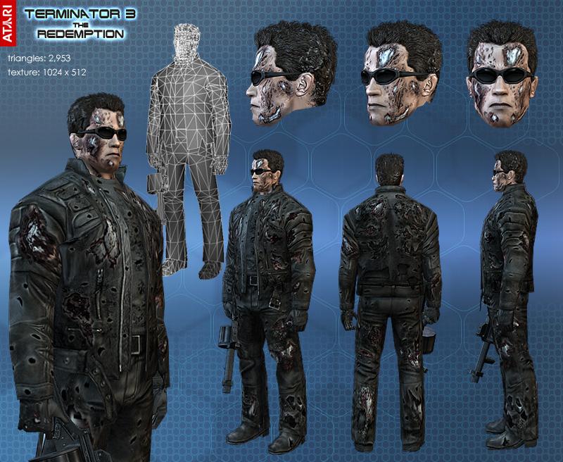 Image - T850 present minordamage.jpg - Terminator Wiki