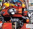 Robotnik's deadly battle suit