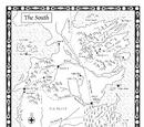 权力的游戏-南方地图