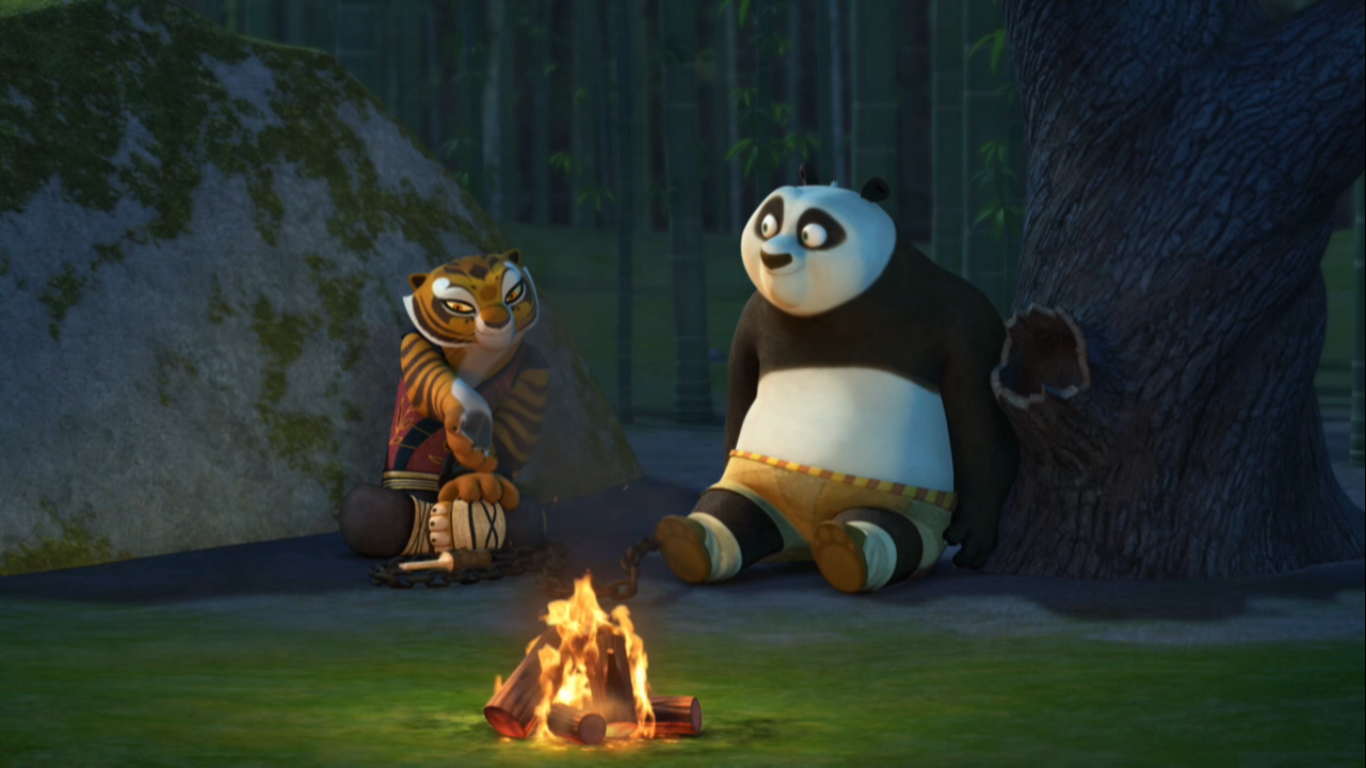 photogallery kung fu panda po and tigress size of this preview 640 360 pixels other resolutions 320