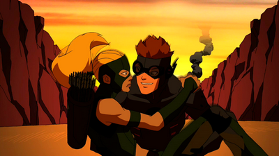 Kid Flash X Artemis Bereft - Young Justice...