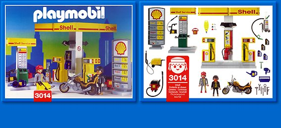 3014 Gas Station Playmobil Wiki